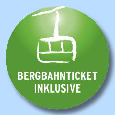 Begbahnticket inklusive